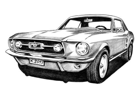 mustang drawing ford mustangs drawing related keywords ford
