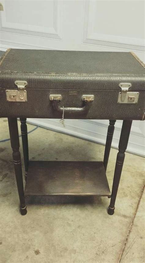 vintage end table 1950s 17 best images about vintage suitcases on home