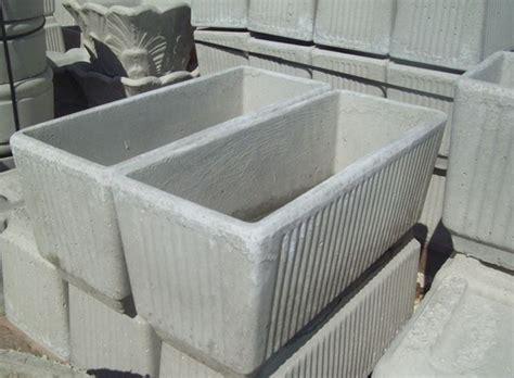 vasi da giardino in cemento vasi in cemento vasi e fioriere caratteristiche dei