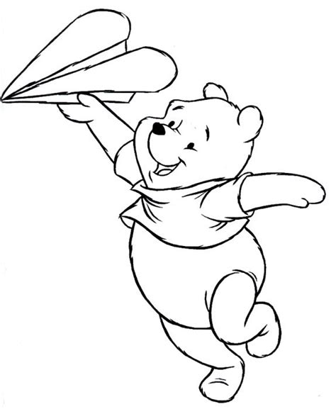 To Print winnie the pooh colorings toupty