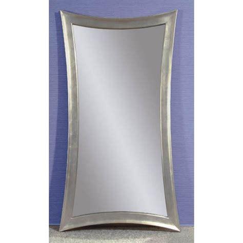 bassett mirror company modern silver floor mirror bm m1718