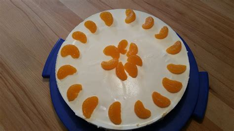 Mandarinen Philadelphia Torte Rezept Mit Bild