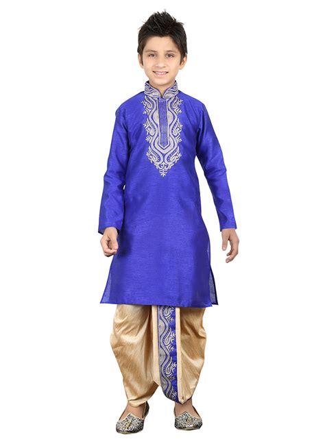 dhoti pattern kurti buy royal blue teens dhoti kurta teens dhoti kurta