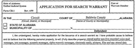 Alabama Warrant Search Baldwin Authorities Ready To Take Downs To Grand Jury Voluminous