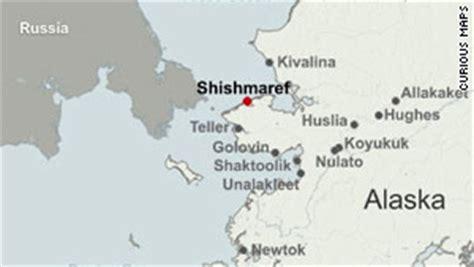 shishmaref alaska map map of alaskan villages images