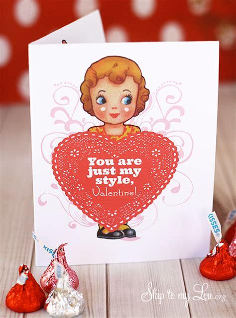 valentine s day crafts skip to my lou paper doll valentines blog hop skip to my lou