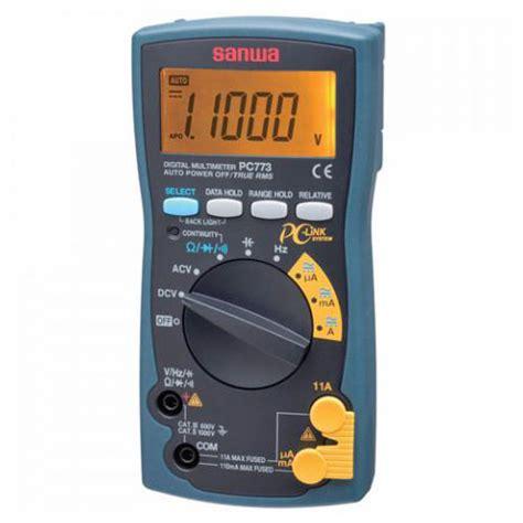 Digital Multimeter Sanwa Pc 5000 sanwa pc773 digital multimeter meter digital