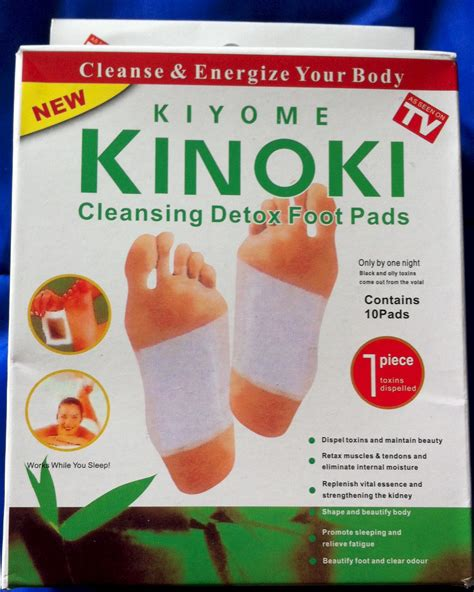 Detox Foot Pads In Stores by Kinoki Cleansing Detox Pads 25 Boxes Of 10 250