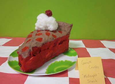 How To Make Paper Mache Food - paper mache food sculptures food food