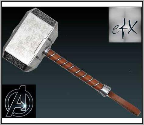 movie quality thor hammer efx marvel thor s hammer mjolnir prop replica