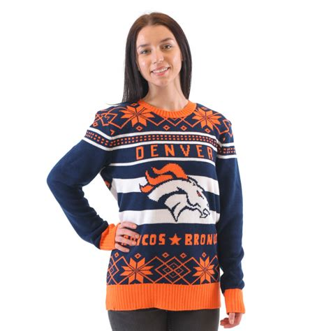 Sweaters Denver denver broncos navy sweater