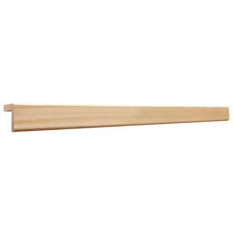 shop 1 3125 in x 96 in wood square cove moulding at lowes com