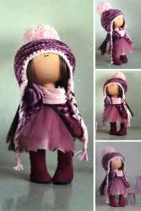 winter doll handmade doll russian doll cloth doll tilda