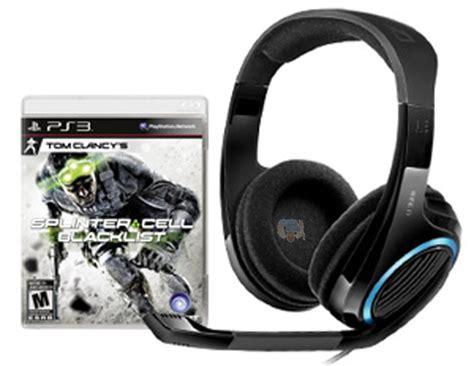Headset Gaming Sq7 Midasforce Sale Last Stock the source canada sennheiser u320 multi platform gaming headset with splinter cell blacklist