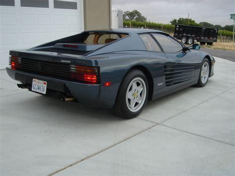 Ferrari Testarossa For Sale by 1990 Ferrari Testarossa For Sale