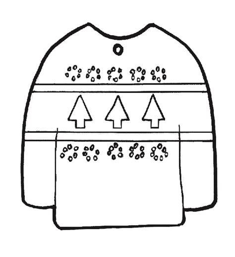plain ugly sweater ornament ilovetocreate