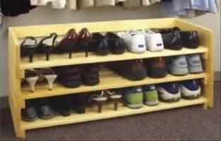 How to build a shoe rack home design ideas