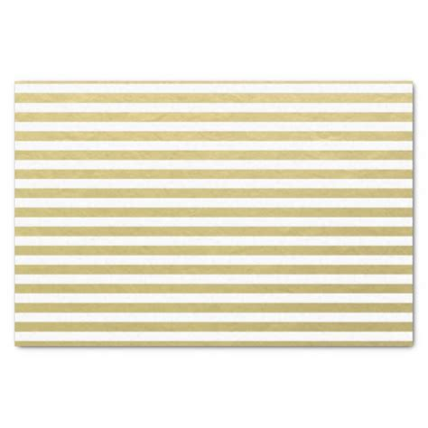 gold pattern tissue paper gold foil white stripes pattern 10 quot x 15 quot tissue paper
