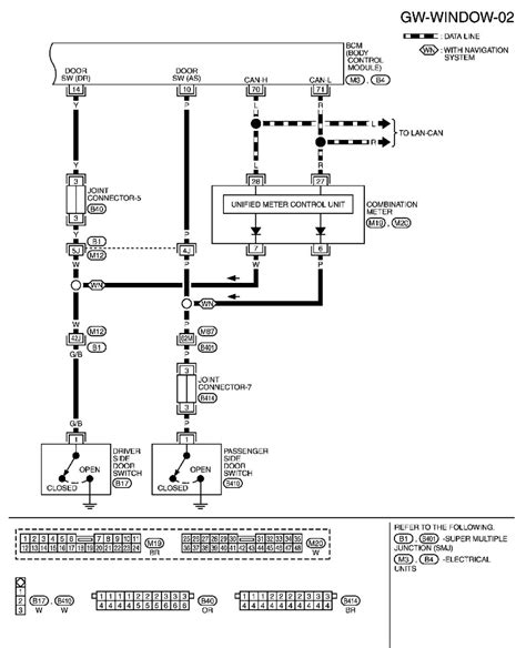 i need a wiring diagram for the passenger window switch