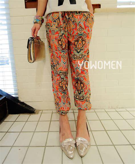 tribal pattern loose pants popular palazzo pants pattern buy cheap palazzo pants