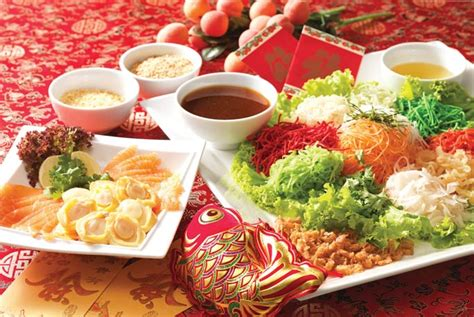 new year lo hei restaurant welcome the year of at villa hotel suites