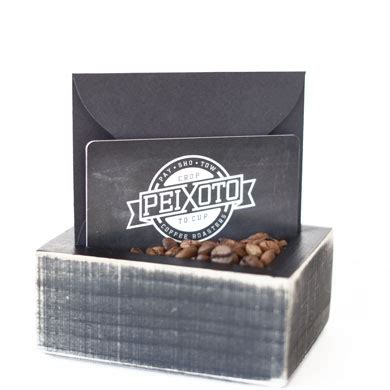 Roasters Coffee Gift Card - in store gift card peixoto coffee roasters