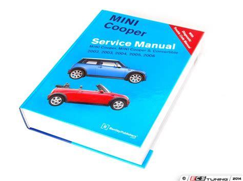 how to download repair manuals 2008 mini cooper regenerative braking ecs news mini r50 r53 bentley service manuals