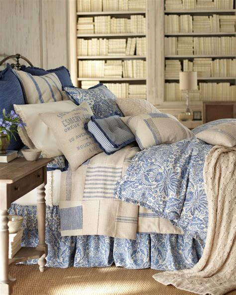 french laundry home decor french laundry home quot indigo sea quot bed linens home and