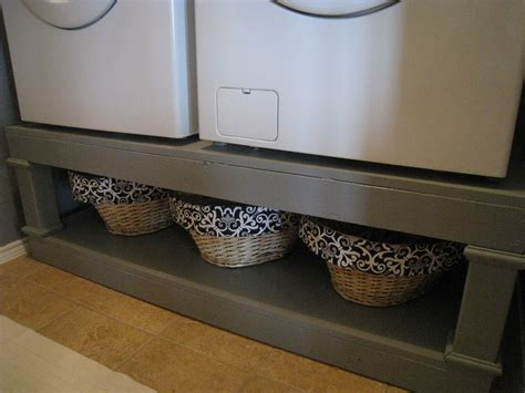 Pedestal Washer Dryer white washer dryer pedestal diy projects