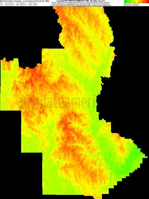 south louisiana elevation map free natchitoches parish louisiana topo maps elevations