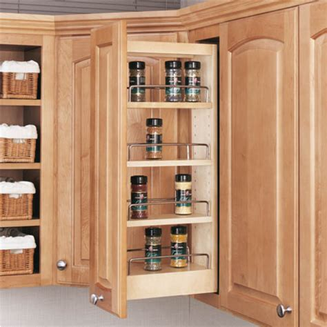 kitchen cabinet pullouts rev a shelf kitchen upper cabinet pull out organizer