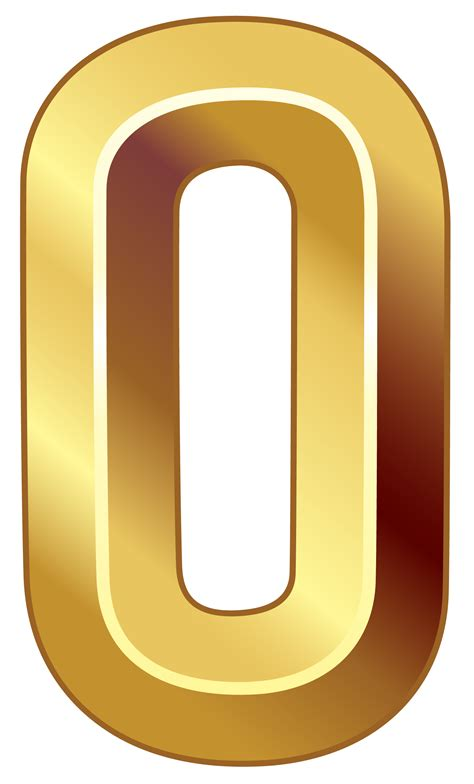 gold number  png clipart image clip art clipart