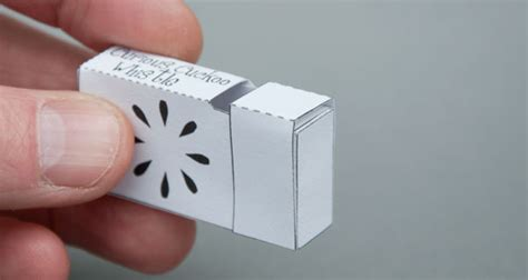 How To Make A Whistle Out Of Paper - curious cuckoo whistle a free for everyone www