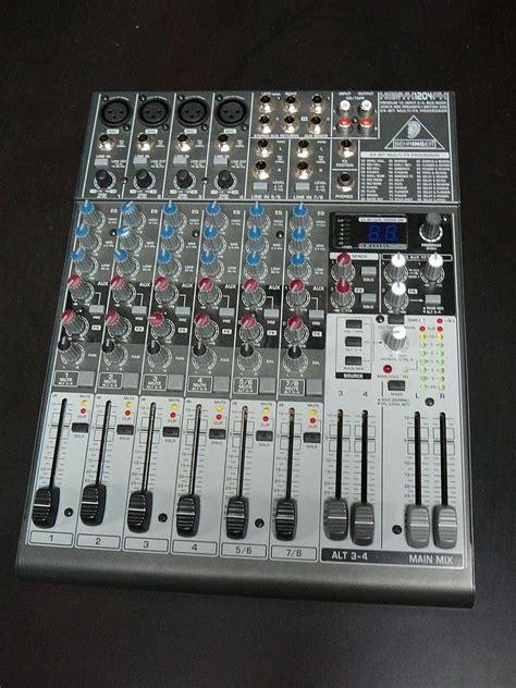 Mixer Behringer Xenyx 1204fx Behringer Xenyx 1204fx Image 204656 Audiofanzine