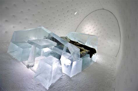 designboom icehotel iceberg suite 315 hotel room carved from ice by wouter