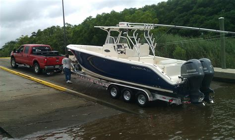affordable bay boats our new cobia 296 center console page 2 the hull truth