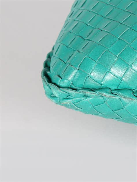 Bottega Venetta Green bottega veneta intrecciato hobo green leather luxury bags