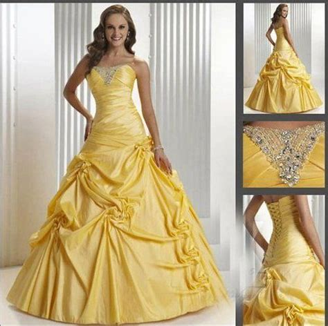 pictures of yellow wedding dresses yellow wedding dress my style
