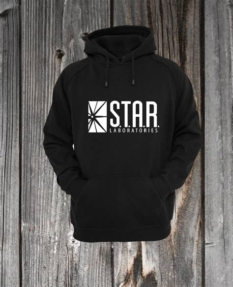 S T A R Laboratories Tshirt s t a r laboratories the flash sweatshirt hoodie tim