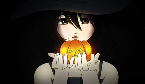 imagenes de halloween en anime anime halloween wallpapers wallpaper cave