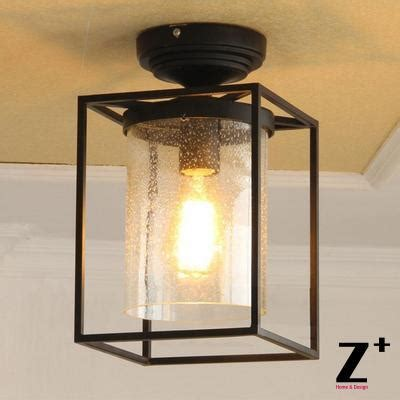 Black Iron Ceiling Lights Aliexpress Buy Edison Lights American Industrial Style Ceiling L Vintage Glass
