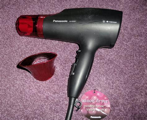 Panasonic Nanoe Hair Dryer Black And Pink the panasonic nanoe hairdryer review julie s notebook