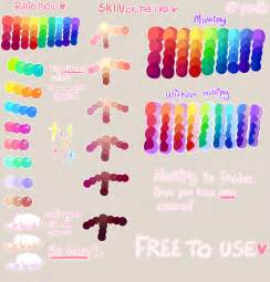how to use color tutorial free to use palette by yamio on deviantart