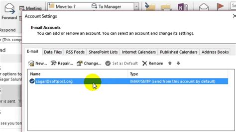How To Search Email In How To Find Smtp Server Name In Outlook