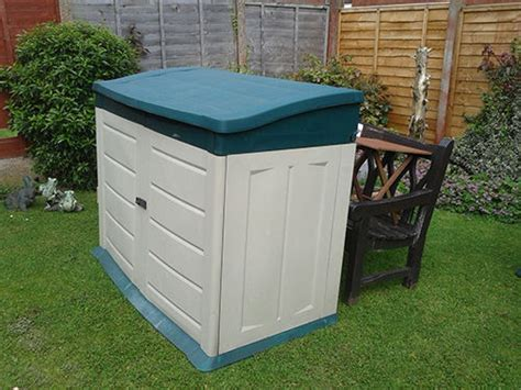 Plastic Garden Sheds Plastic Storage Shed Buying Guide Ebay