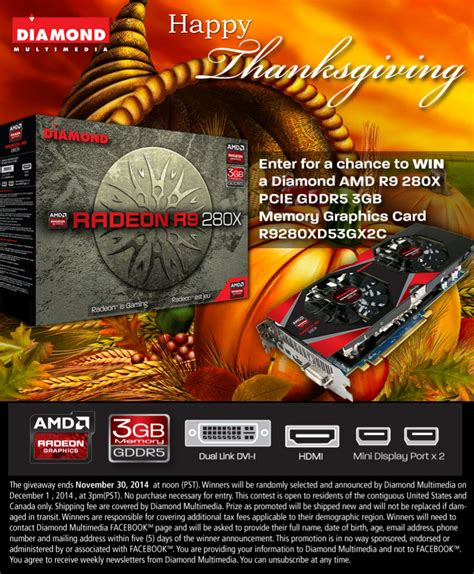 Free Giveaways 2014 - win a amd r9 280x gddr5 3gb graphics card giveaway best