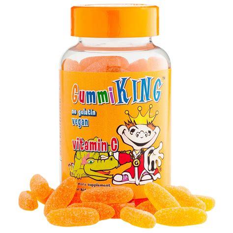 vit c supplements gummi king vitamin c for orange flavor 60