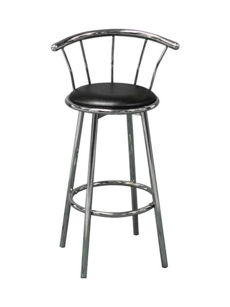 Black Chrome Bar Stools by Black And Chrome Bar Stool Chairs