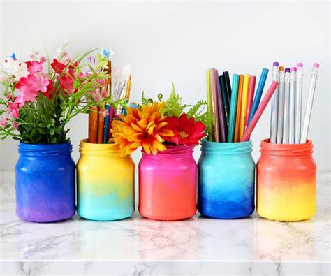 crafts videos 3 ways to decorate glass jars crafts jar diy