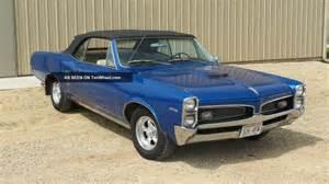 1967 Pontiac Lemans Value 1967 Pontiac Lemans Base 6 6l